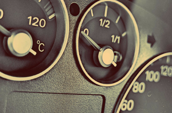 Indicatore del livello carburante gpl
